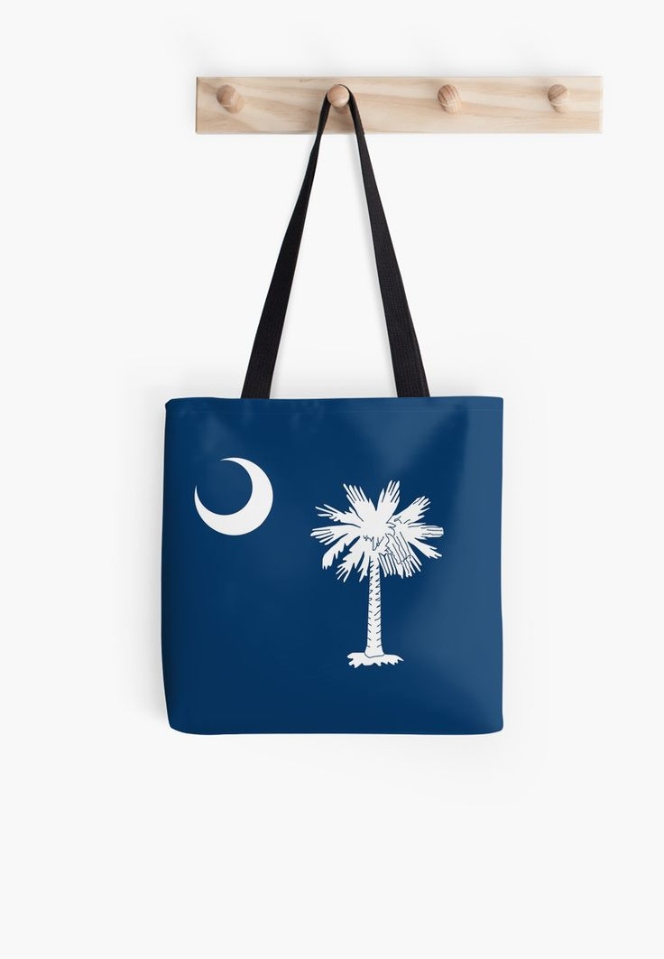 South Carolina is a state in the southeastern region of the United States. The state is bordered t… • Also buy this artwork on bags, apparel, stickers, and more. #southcarolina #flag #Southcarolinaflag