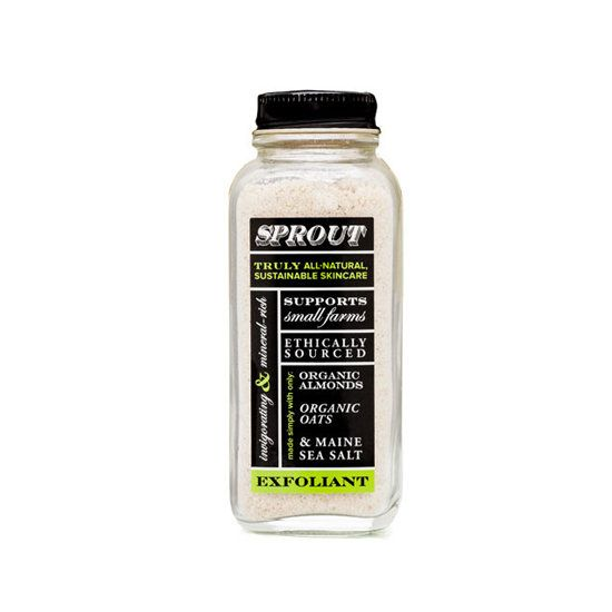 Brooklyn-based Sprout Skincare's products: Exfoliant