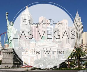 Check out some of our favorite things to do in Los Vegas this winter, including annual events, places to see & much more.