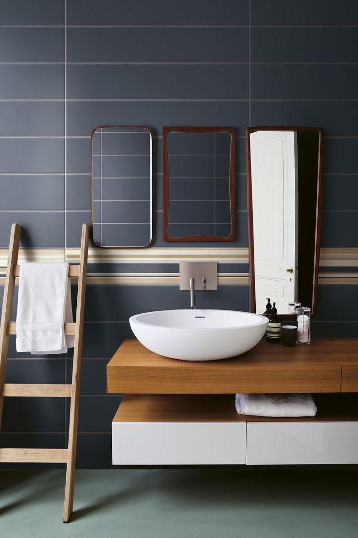 Indoor double-fired ceramic wall tiles BAIADERA - @bardelli