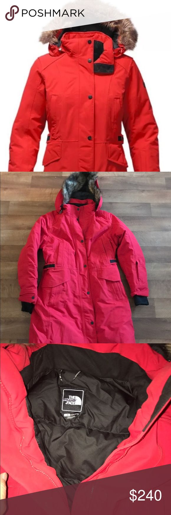 The North Face Tremaya Parka Jacket L Size large The North Face Tremaya Parka mark through inside label 100% Authentic 🚫no trades🚫 Jackets & Coats