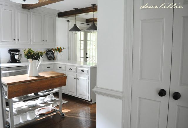 Best Dear Lillie Gray Trim And White Walls Rooms I Want 400 x 300