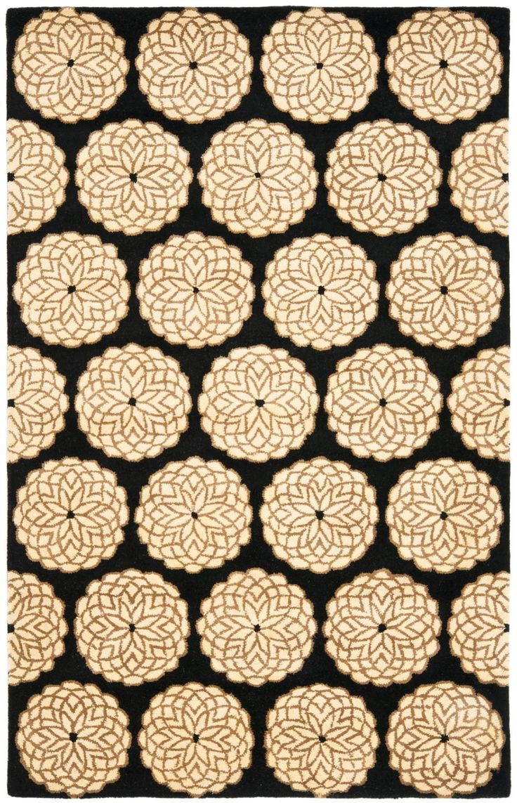 Safavieh Rodeo Drive RD952A Black And White Area Rug | Bold Rugs