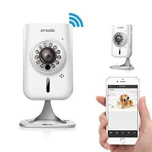 Zmodo 720p HD Wireless Wifi Network IP Home Indoor Security Camera w/ Two-way Audio SmartLink Easy Setup Remote Access in Seconds by Zmodo via https://www.bittopper.com/item/zmodo-720p-hd-wireless-wifi-network-ip-home-indoor-security/