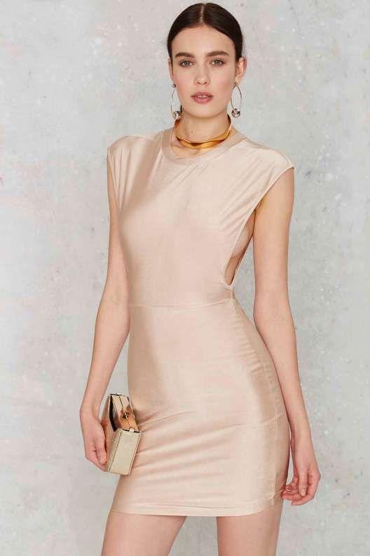 Ahead of the Curve Mini Dress - Dresses