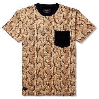 10Deep Tribes Pocket Tee - Snake £33.33 (£40.00 inc VAT)  Slither yourself into this sexy number this summer! Available at www.catapult.co.uk