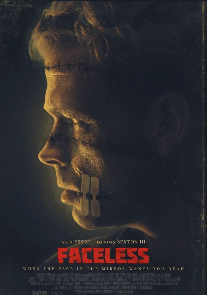 Faceless 2021 Preview Of Hospital Horror With Release News Moviesandmania Com In 2021 Thriller Movie Horror Movie Posters Thriller