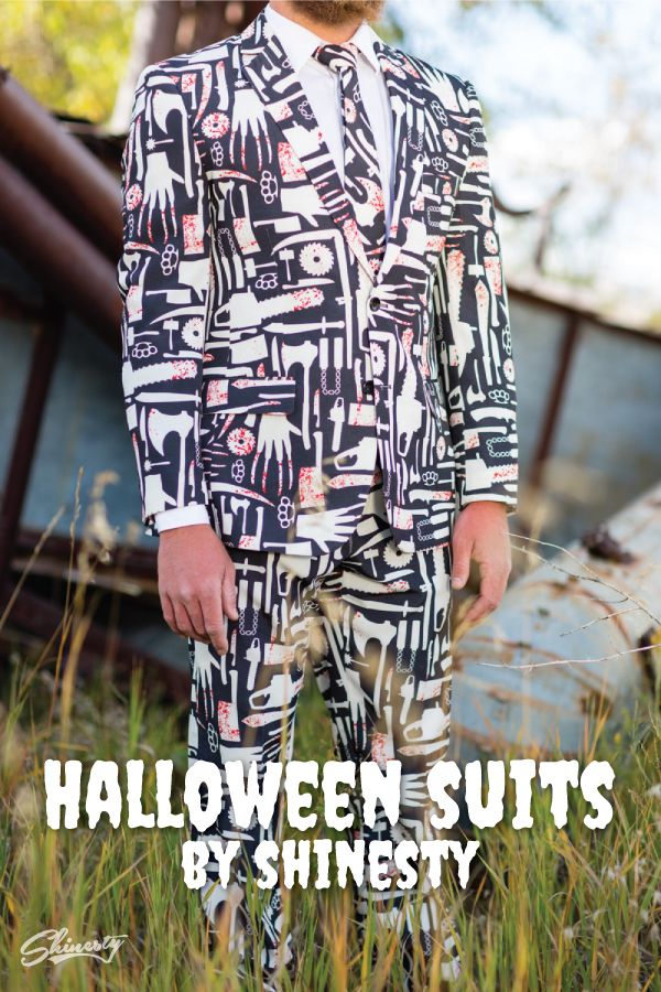 Men's Halloween costumes made easy...and classy. Shop Shinesty Halloween suits.
