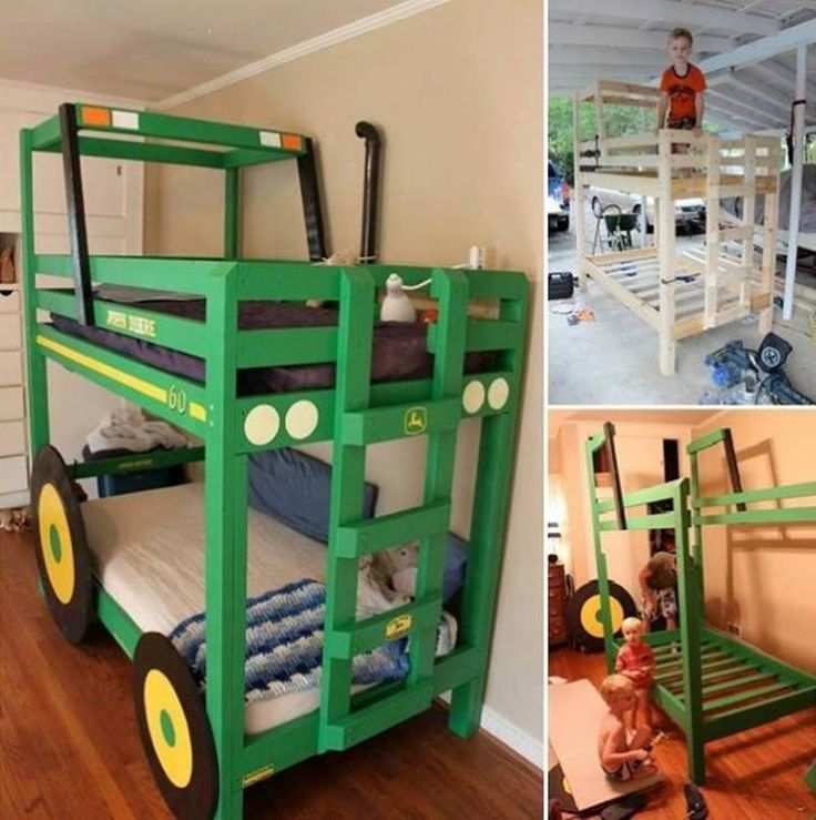 How to DIY Tractor Bunk Bed