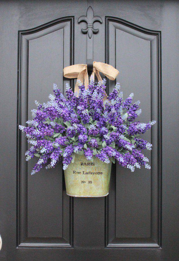 Best 25+ Door wreaths ideas on Pinterest | Letter door ...