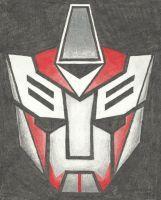 Autobot Insignia - Smokescreen (TFP) by LadyIronhide