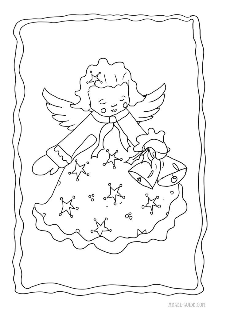coloring pages cherubs - photo#7