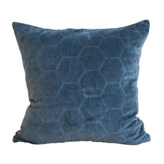 Halldis cushion cover - navy blue - FunkyDoris