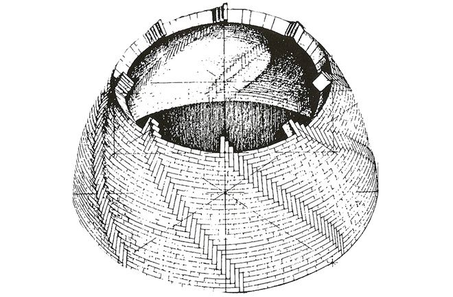 Archaeologists working near Florence's Duomo have uncovered a miniature dome that may have served as Filippo Brunelleschi's model