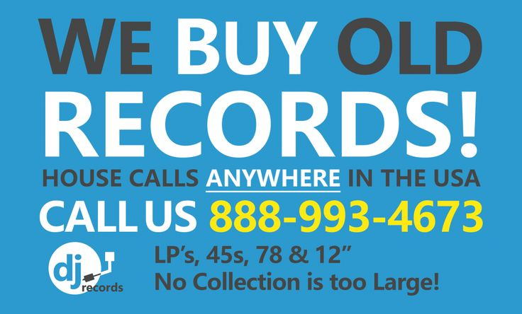 Sell Vinyl Records – Selling Old Vinyl Records – Sell Record Albums