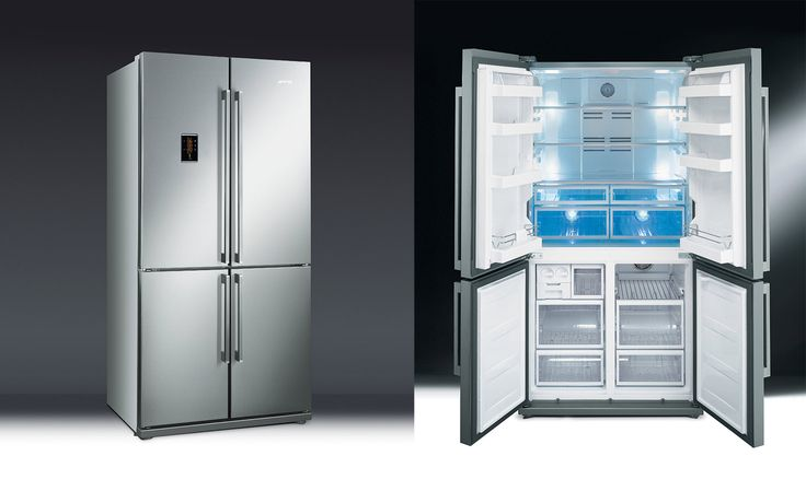 Il modello FQ60XPE di Smeg ha i cassetti dedicati agli alimenti freschi illuminati dal sistema Active Fresh Blu Light, che aumenta i tempi di conservazione di frutta e verdura e ne preserva più a lungo il contenuto vitaminico. Sia il vano frigorifero che i vani congelatore sono dotati poi di uno specifico sistema di aerazione che tiene controllata l'umidità, evitando la formazione di brina e rendendo il Side by Side totalmente No Frost. In Classe A  e dispone della funzione Economy, che…