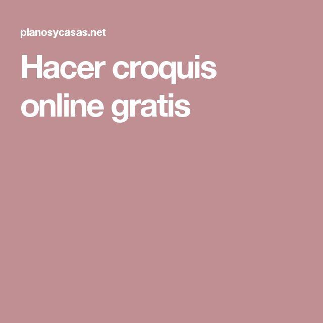 Hacer croquis online gratis