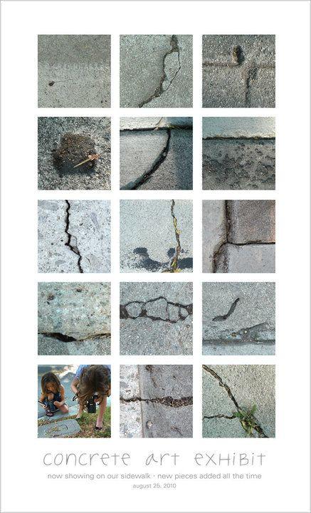 SIdewalk CracksPhotos, Ideas, Class Projects, Concrete Kingdom, Beautiful Concrete, Photographers Techniques, Real Artists, Photography, Keri Smith