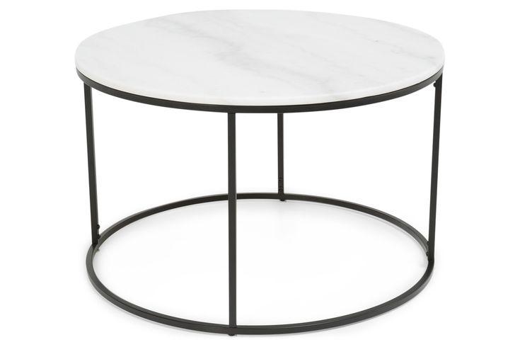 Köp Soffbord Titania Vit Marmor/Svart Runt 80x50 cm hos Chilli. Hos oss får du hög kvalitet till bra pris. Handla fraktfritt med snabb leverans direkt till dörren - Välkommen!