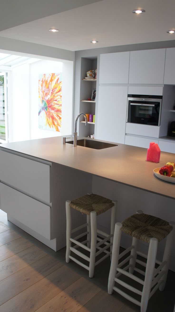 25 beste idee n over eiken vloeren op pinterest witte eiken vloeren en houten vloeren - Keuken licht eiken ...