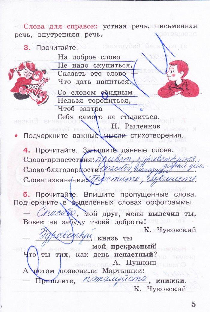 Готовые дз по русскому языку 4 класс зеленина