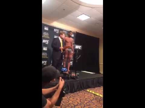 Tyron Woodley UFC 201 Weigh In