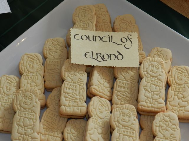 Council of Elrond at a Hobbit party  #hobbit #party