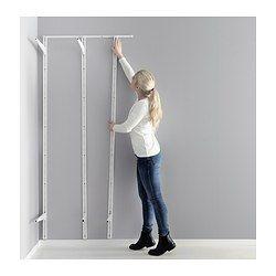 IKEA - ALGOT, Montageschiene, 88 cm, , Mit der Montageschiene lässen sich ALGOT Wandschienen gerade und in perfekten Abstand anbringen.Auch für Badezimmer und andere Feuchträume im Haus geeignet.