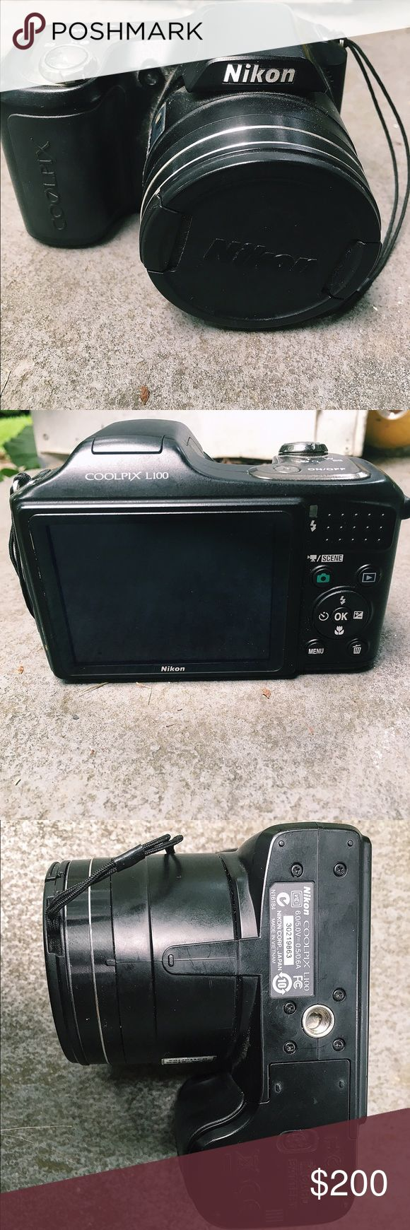 Nikon CoolPix L100 Great condition. Rarely been used. 6.0/5.0V = 0.5/0.6A Nikon Other