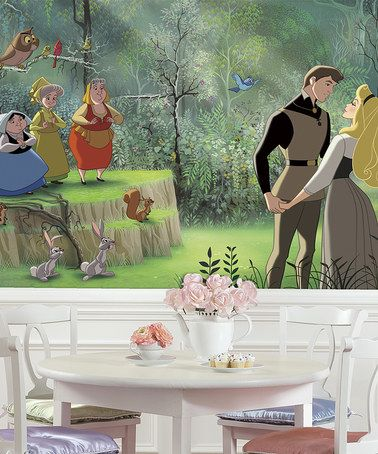 17 best images about golden oak on pinterest disney for Disney princess mural asda