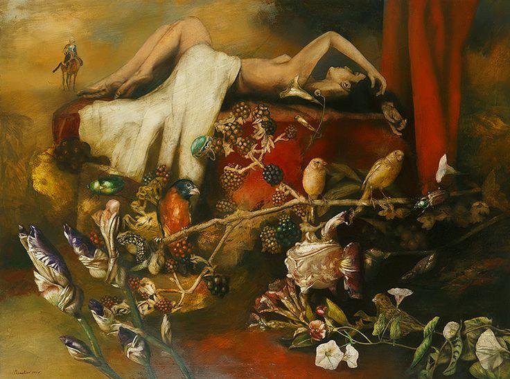 Juliet Oil on Canvas 97x130cm