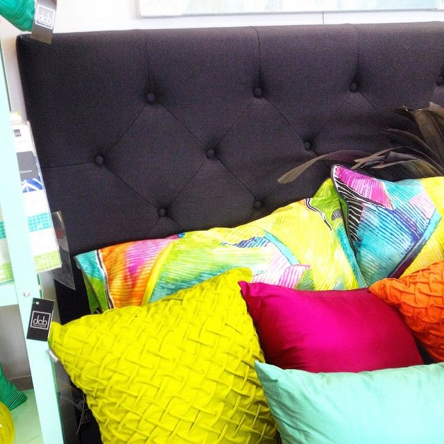 New Black Linen Bedheads exclusive to @dcb_designs Queen $259 & King $289 #dcbdesigns #newstock #bedheads #blackbedheads