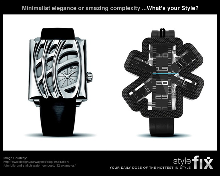 They're much more than watches, they're statements of style!