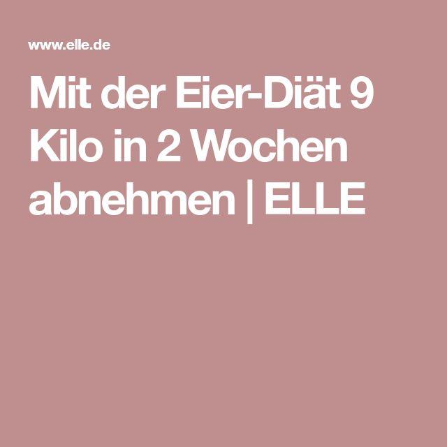 Mit der Eier-Diät 9 Kilo in 2 Wochen abnehmen | ELLE