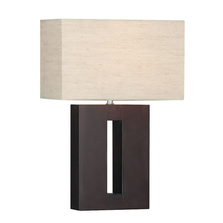 Sculpture of Rectangle Lamp Shades: Design Variants and Images