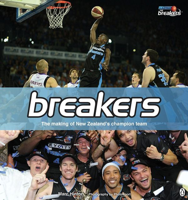 Breakers by Marc Hinton from Whitcoulls