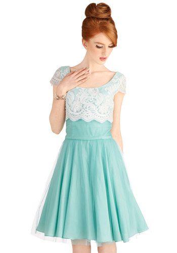 Breathtaking Belle Dress in Mint, #ModCloth