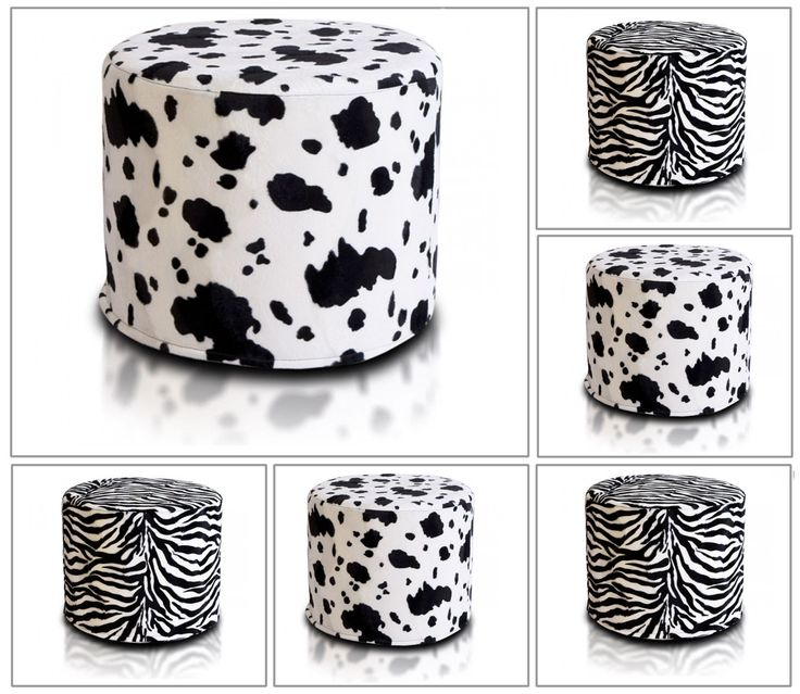 Details Zu Hocker Sitzhocker Dekohocker Sitzwürfel Würfel Cube Premium  Echterfell Leder