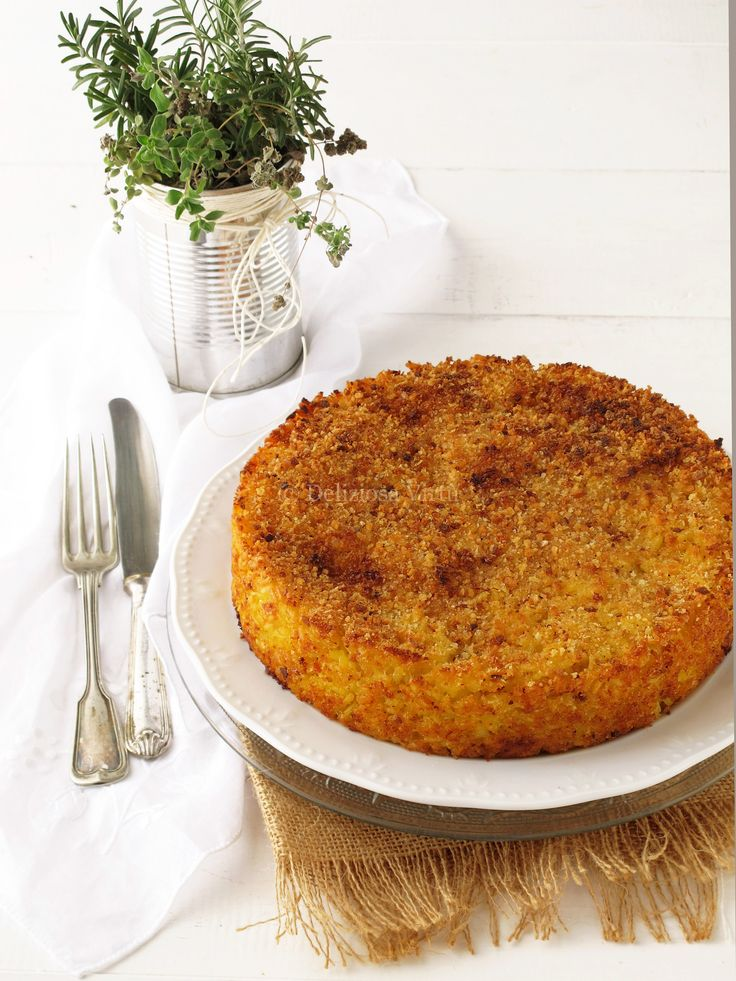 Timballo di riso con spinaci e salmone - Deliziosa Virtù