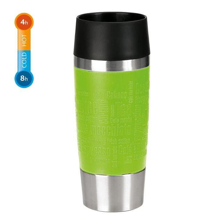 Kubek termiczny/samochodowy Travel Mug, #EMSA - DECO Salon #thermal #mug #winteriscoming #coffee #tea #teaaccessories #coffeeaccessories