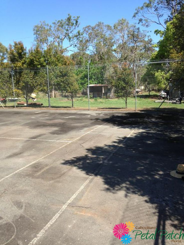 Empty Tennis Court - The venue of the next event styling challenge!