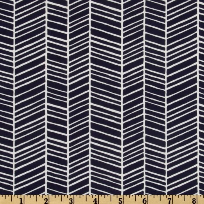 Joel Dewberry Modern Meadow Herringbone Lake from @fabricdotcom