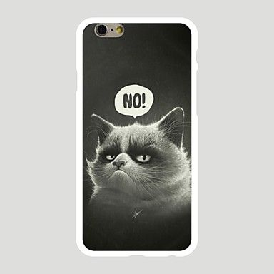 Para+Estampada+Capinha+Capa+Traseira+Capinha+Gato+Rígida+PC+Apple+iPhone+7+Plus+/+iPhone+7+/+iPhone+6s+Plus/6+Plus+/+iPhone+6s/6+–+EUR+€+1.95
