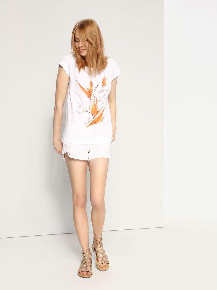 Top Secret SPO2845 White T-Shirt