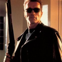 Terminator Terminator Salvation, Terminator 3: Rise of the Machines, T2 3-D:Battle Across Time, Terminator: Genesis, Terminator 2: Judgment Day, Encino Man, The Terminator