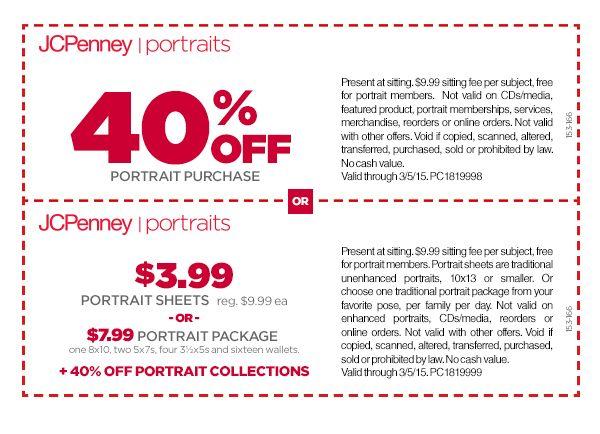 Portrait Studio Offers | JCPenney Portraits
