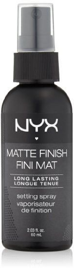 Matte Finish NYX Cosmetics Make Up Setting Spray, Professional Color Stay