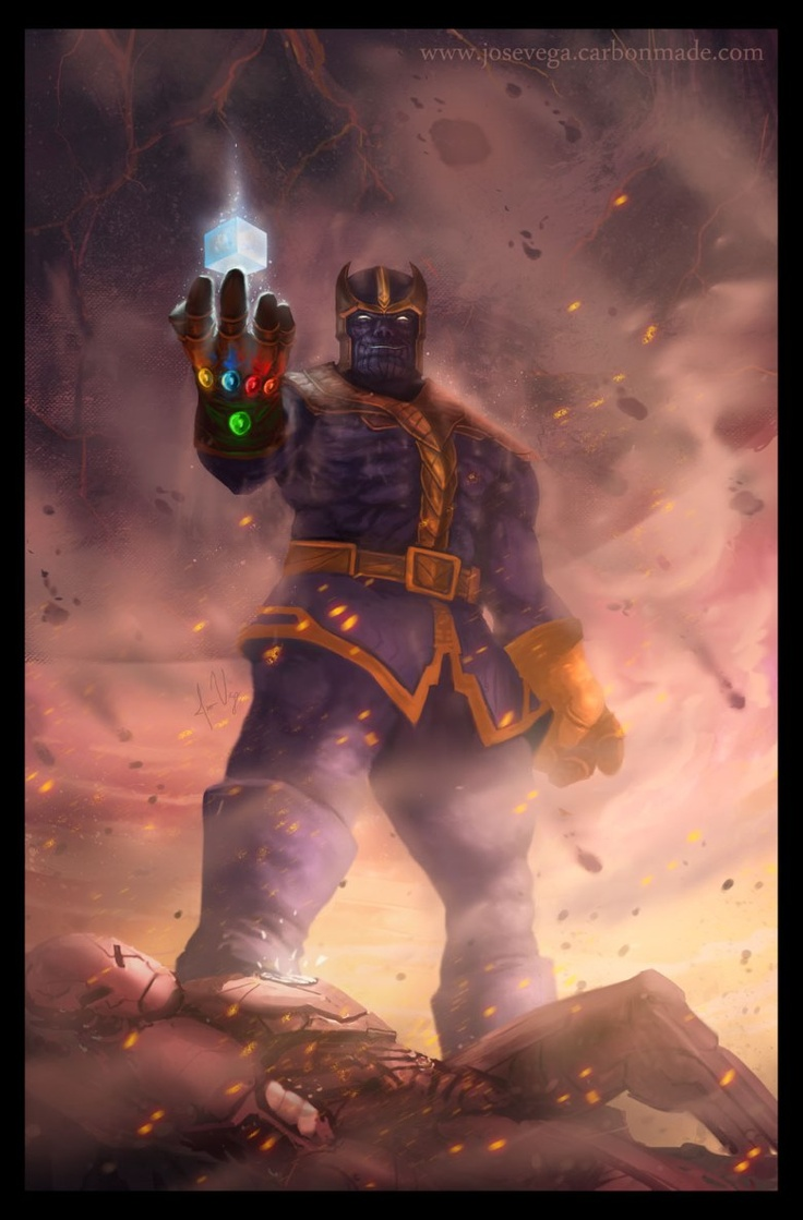 Thanos - Master of Gauntlet by Jose Vega