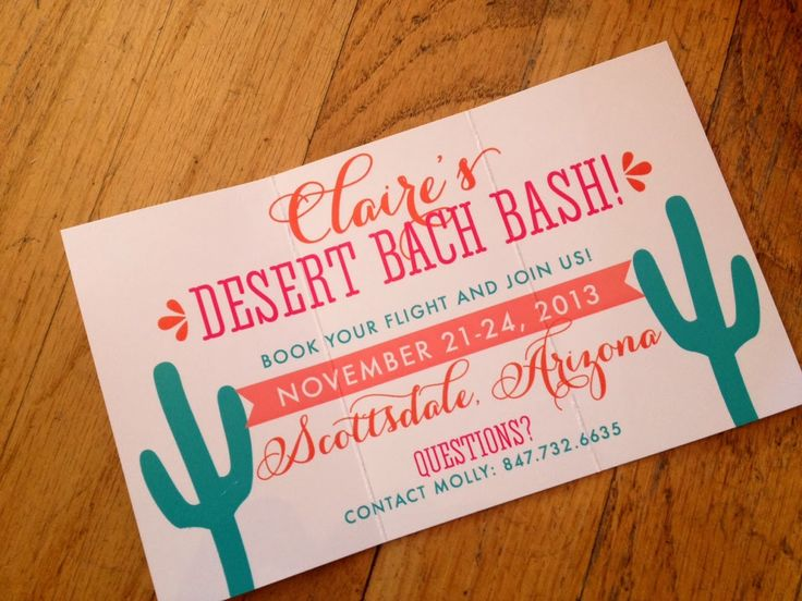 Scottsdale or BUST for a Desert Bachelorette Bash!! by Nico and LaLa