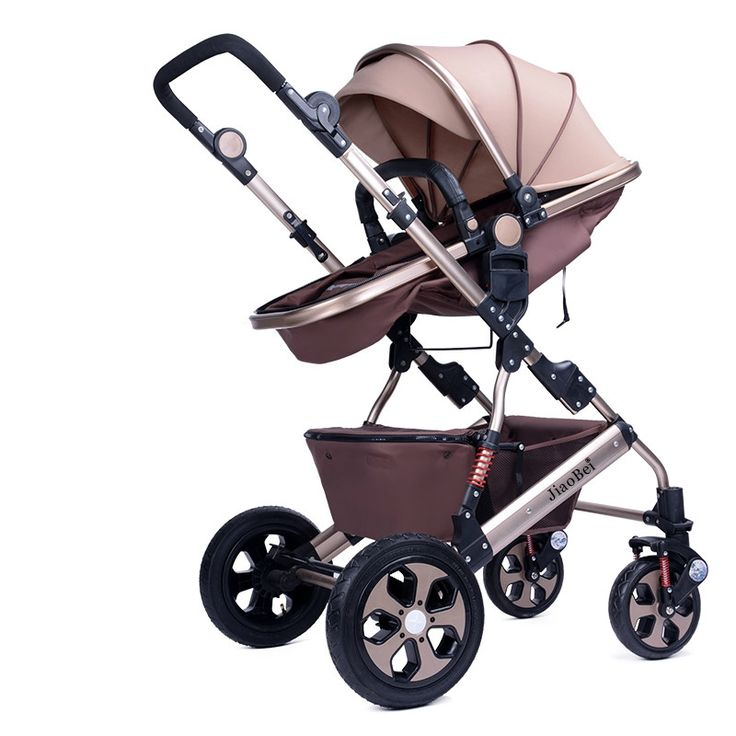 316.20$  Watch here - http://alinrh.worldwells.pw/go.php?t=32695917491 - 2016 New High Landscape Baby Stroller Aluminum Alloy Folding Shockproof Baby Car Can sit Lying Baby Prams and pushchairs C01 316.20$